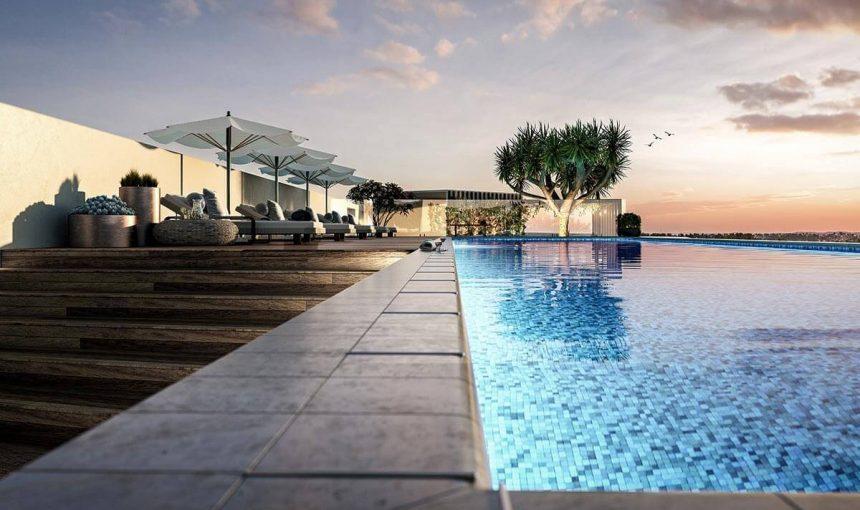 Rooftop Pool CGI