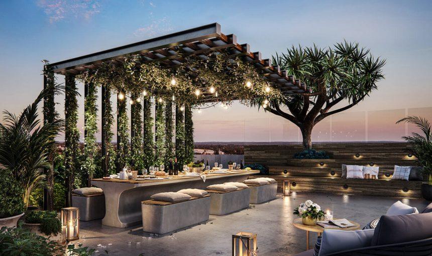 Rooftop Garden CGI