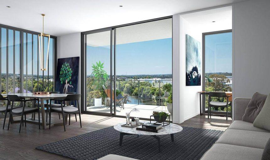 Interior Living CGI